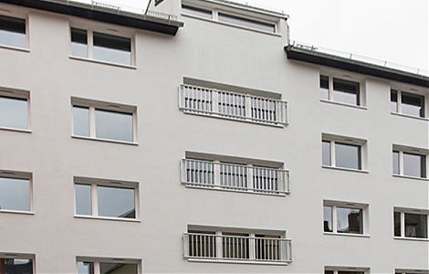 dieBauingenieure - Dachsanierung einer Zeilenbebauung in der Insterburger Straße 35 b-d