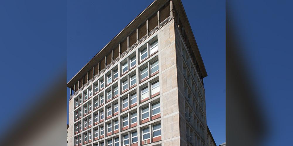 dieBauingenieure Neubau Sozialtrakt und Modernisierung Turnhalle, Schillerschule,Karlsruhe
