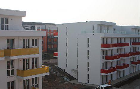 Neubau vier Mehrfamilienhäusern