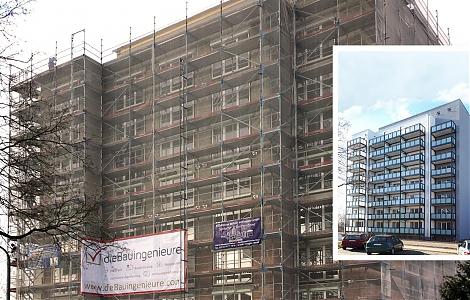 Sanierung Hochhaus Frankfurt