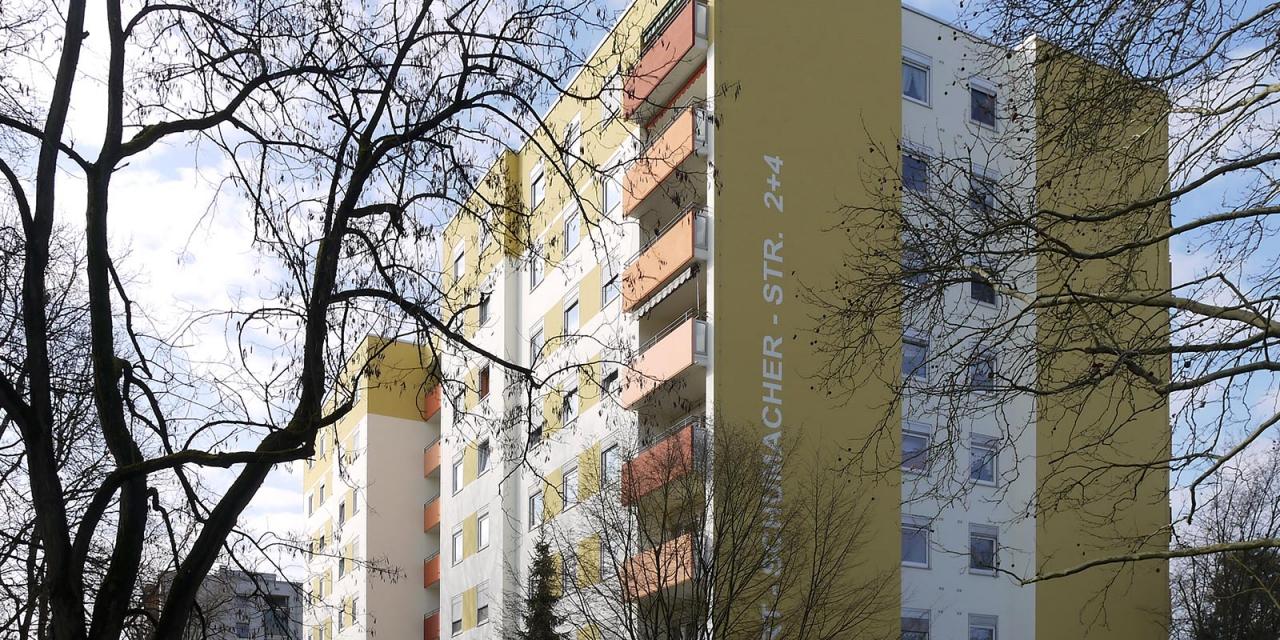 Karlsruhe Fassaden- und Balkonsanierung